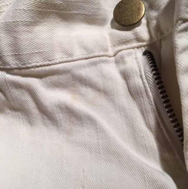 White Shorts Size 8