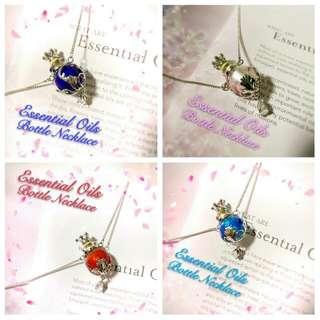 Essential Oil Diffuser Necklace (Various colours)