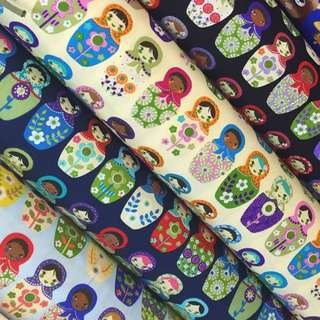 Cotton Nursing Cover(RUSSIAN DOLLS COLLECTION)