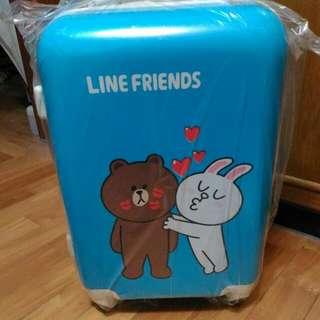 LINE Friends 熊大 兔兔 行李箱 20吋