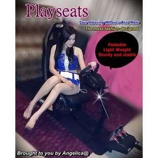 (現貨)PS3 xbox PLAYSEATS 賽車椅/賽車架 - G29 /G27 G25 / GT/GT5/ MOMO/ Racing  Driving 方向盤支架