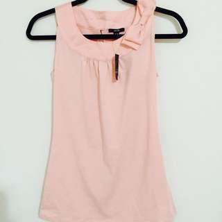 Jacob Pastel Pink Bow Tank