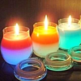 Colour Candles