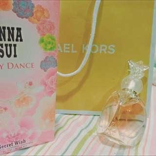 ANNASUI專櫃漫舞精靈女性淡香水 #我有香水要賣