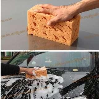 洗車海綿 高密度  珊瑚海綿 打蠟海綿 吸水海綿 不傷車 Cleaning Sponge