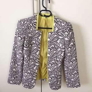 Sheike Paisley Blazer Size 8