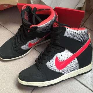 Nike Sky Hi 情人節款內增高鞋24號