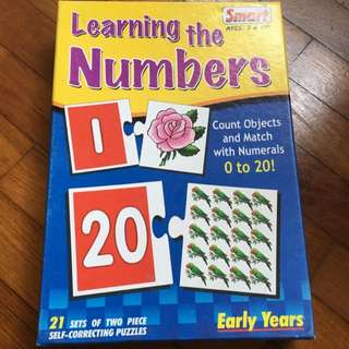 Learning The Numbers Puzzle