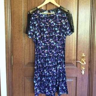 Forever New Lace Skater Dress