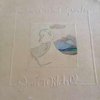 Vintage Joni Mitchell 'Court And Spark' Vinyl