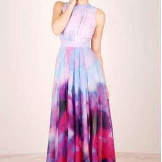 Brand New Dress - Amelia Pastel Maxi – Theory Seven