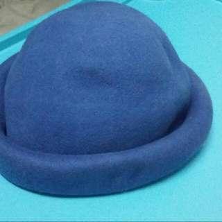 寶藍色圓帽