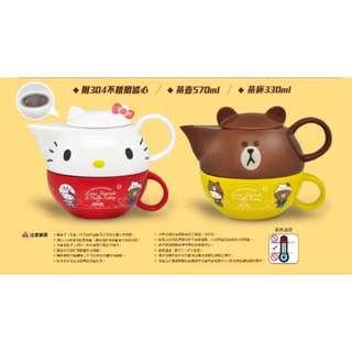 Kitty茶壺 全新