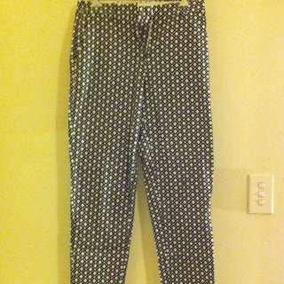 Black & white pants (H&M)