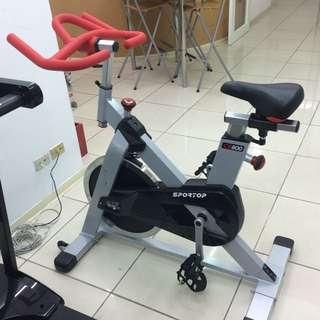降價!全新sportop未拆封飛輪車 Spinning Bike  美國進口 21kg 競速飛輪