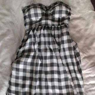 Guess Gray Tube Dress