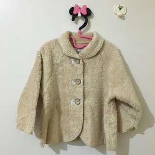 日本製泰迪熊感毛外套