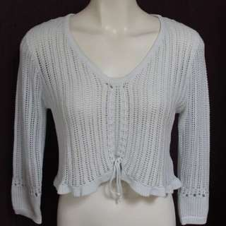 Just Jeans Small White Knit