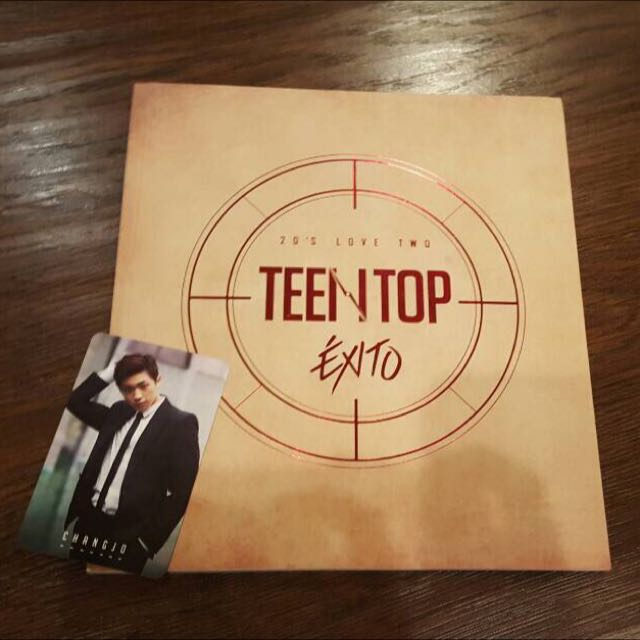 20's LOVE TWO TEENTOP EXITO