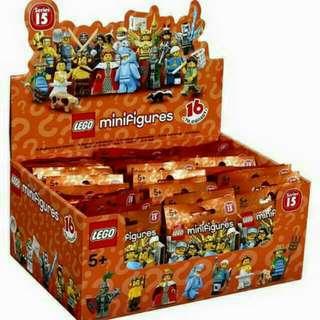Lego Series 15 - Full set of 16 Minifigures