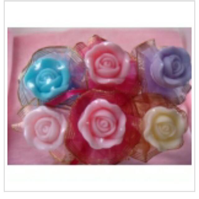 母親節玫瑰香皂花;最後接單5月1日