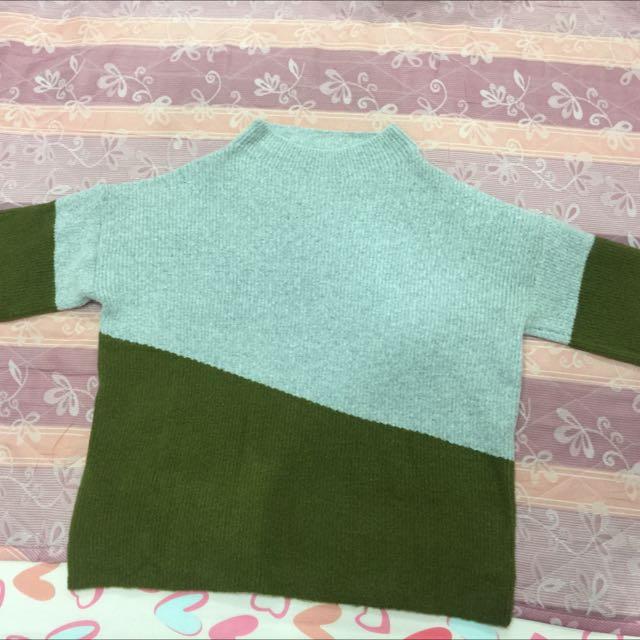 毛料針織毛衣