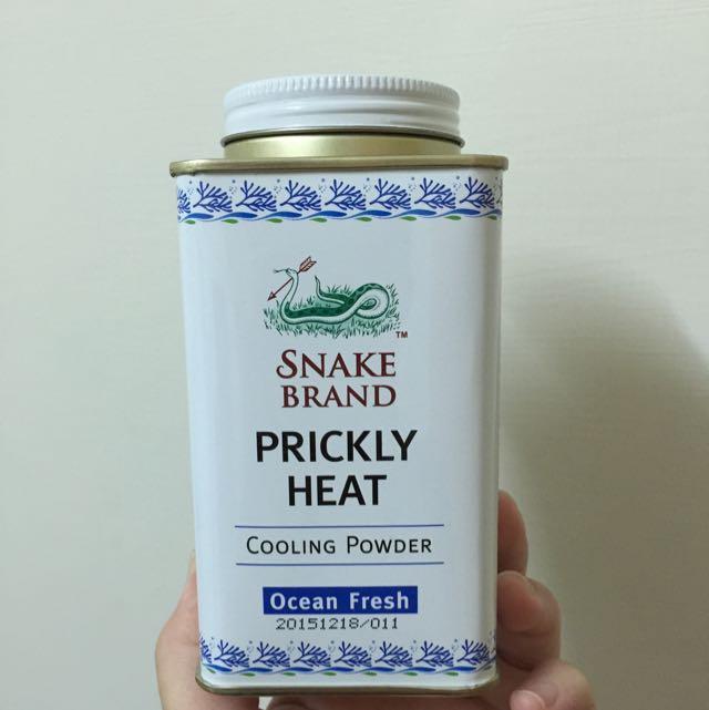 泰國蛇牌爽身粉