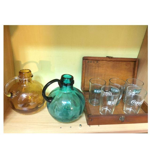 全新玻璃雙色水壺