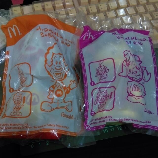 麥當勞 娃娃(4隻一起)
