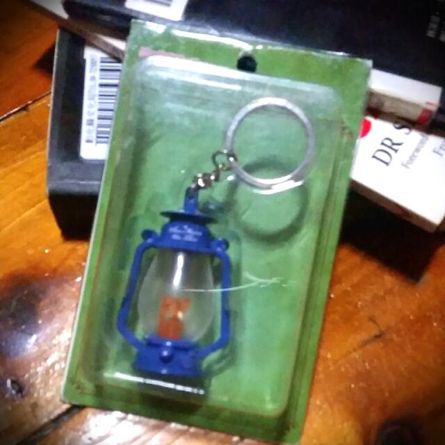 回憶中的瑪妮 燭火 鑰匙圈