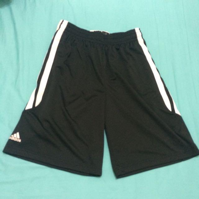 Adidas球褲黑色L號