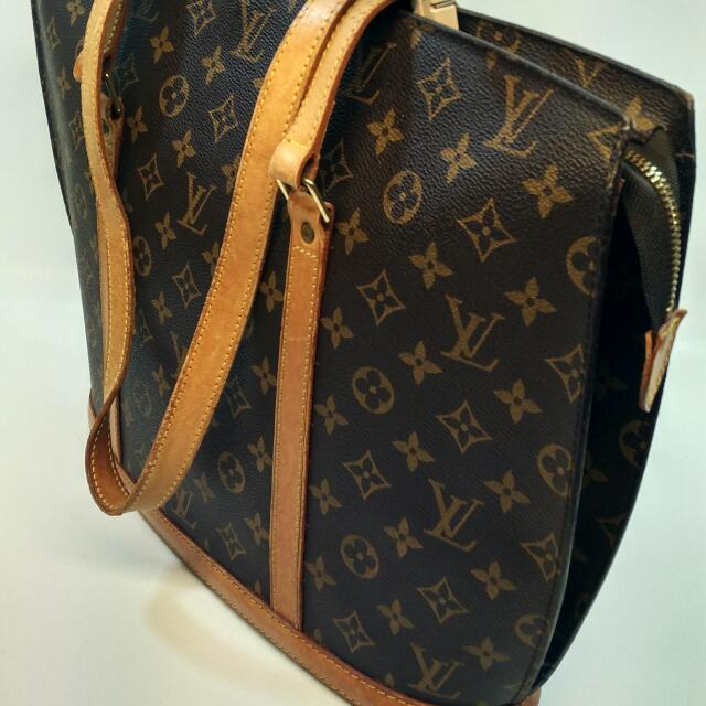 19f2389a9f63 Authentic Louis Vuitton Monogram Babylone Shoulder Shoppers Tote Bag ...