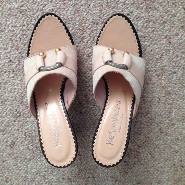 Authentic YSL Sandals Size 37