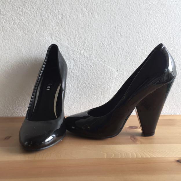 Black Patent Molini Heels