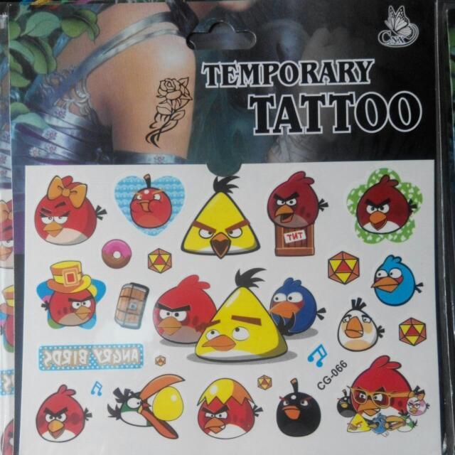 Children's Temporary Tattoo