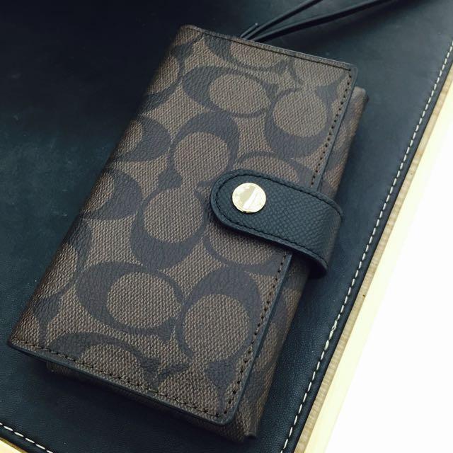 Coach手拿包 全新 小包 護照夾 晚宴夾 晚宴包 中夾 皮夾