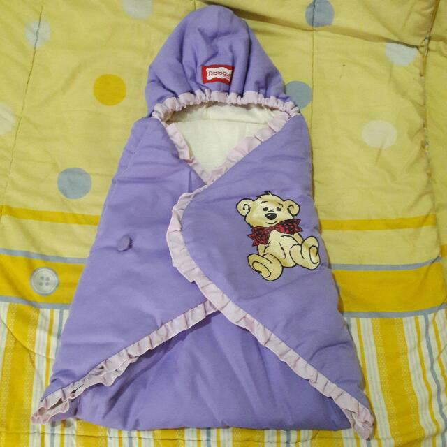 Dialogue Baby Blanket