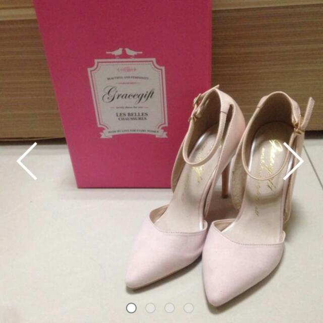 Grace gift 粉色高跟鞋