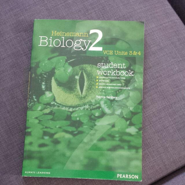 Heinemann Biology 2 Vce Units 3&4