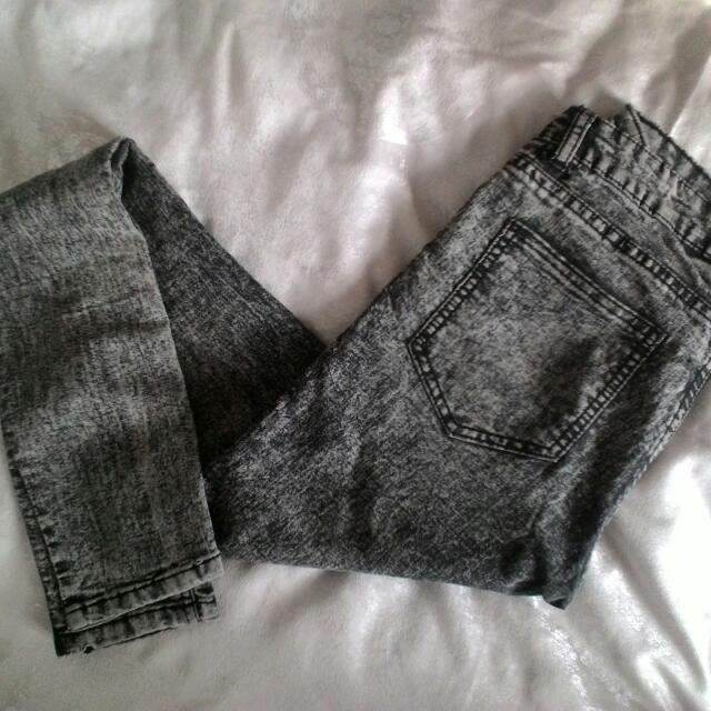 H&M Gray Jegging