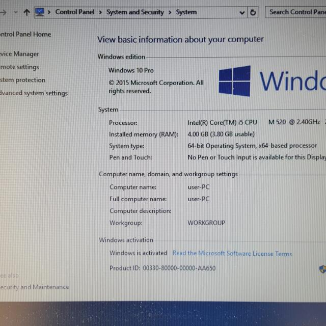 I5 Windows 10 Laptop