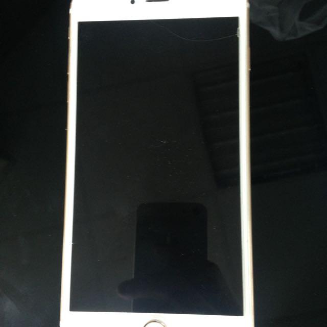 Iphone6  Plus金 全機包膜無損傷保固到六月64g