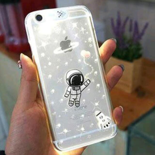 Iphone的特權×太空人來電閃 手機殼