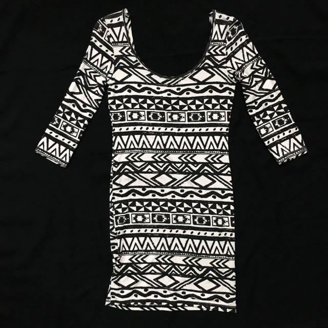 Miss Selfridge Tribal Mini Dress
