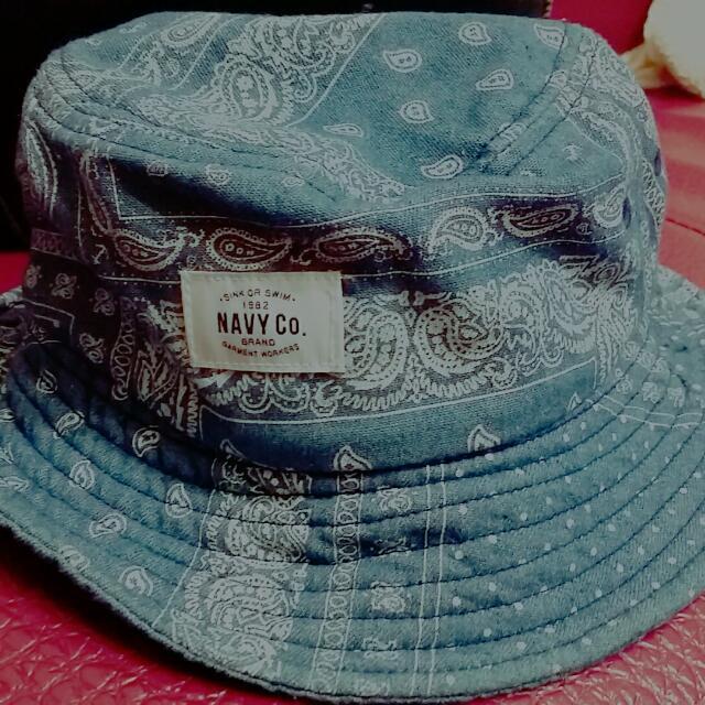 Navy漁夫帽