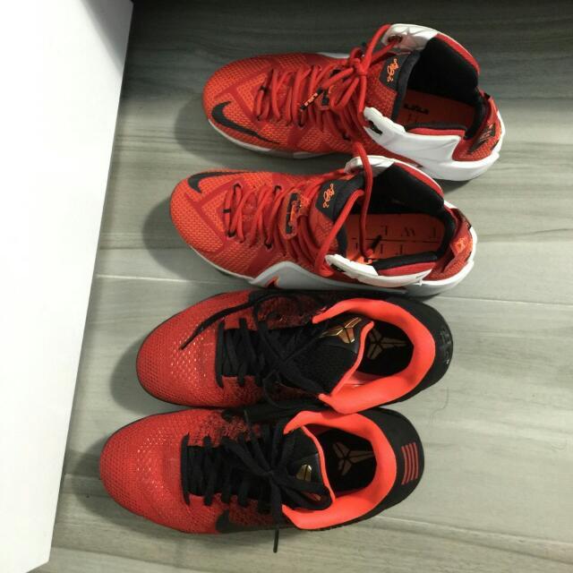 《兩雙一起最便宜》Nike Zoom LBJ 12  Kobe11