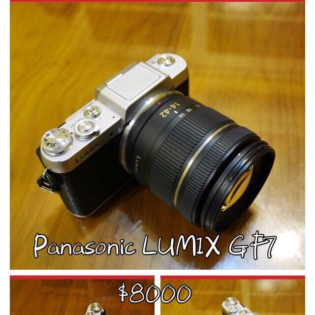 「Panasonic LUMIX GF7」 機身+14-42mm鏡頭