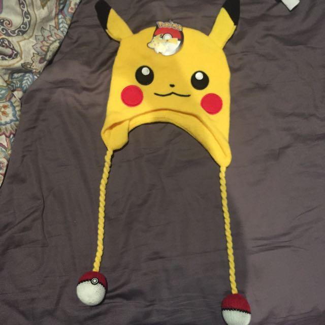 Pikachu Pokemon Beanie