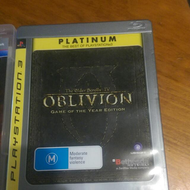 PS3 Games (Final Fantasy 13, NBA2K12, Oblivion)