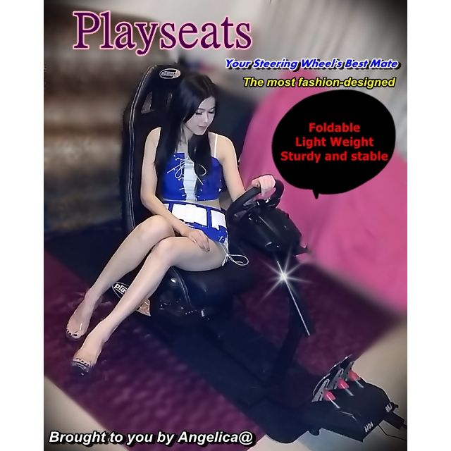 (現貨)PS3 xbox PLAYSEATS 賽車椅/賽車架 - G29 /G27 G25 / GT/GT5/ MOMO/ Racing  Driving 方向盤支架